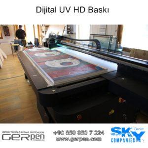 Dijital UV HD Baskı Gergi Tavan