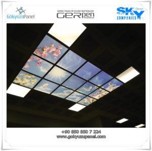 Gergi Tavan Gökyüzü Panel 16