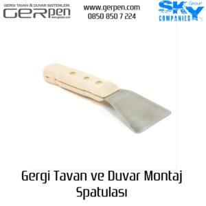 Gergi Tavan Spatulası